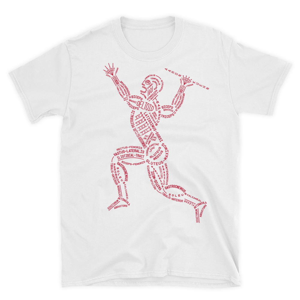 Image of Muscular Typogram - T-shirt
