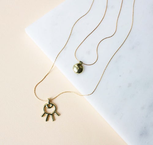 Image of Evil Eye Pendant Necklace