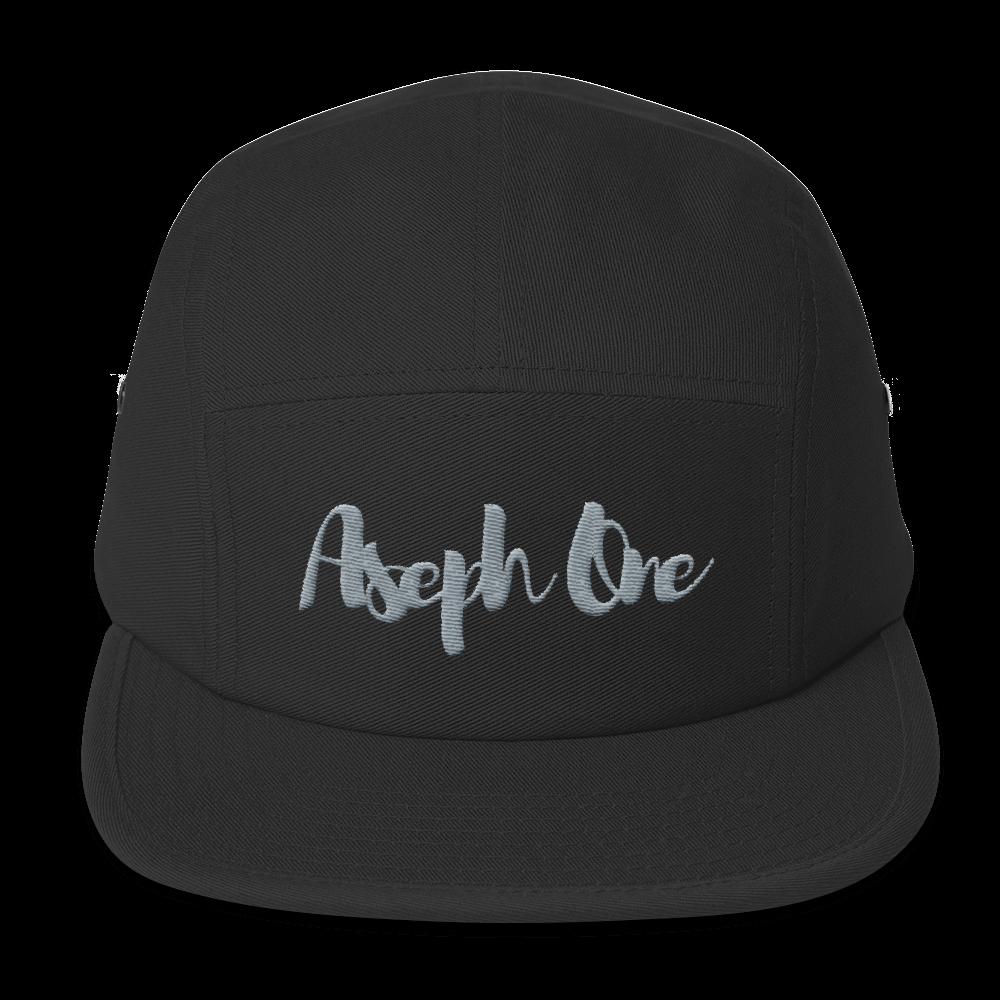 Image of Pronto Street Mobber Black Gray 5 Panel Hat