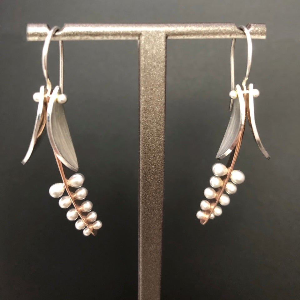 Image of Lily of the Valley Pendant OR Earrings