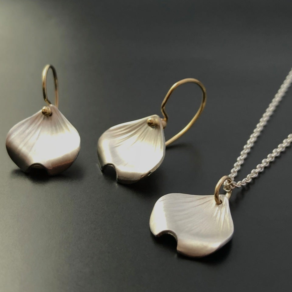 Image of Dogwood Petal Pendant
