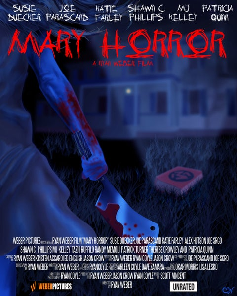 Image of Mary Horror DVD (2011)