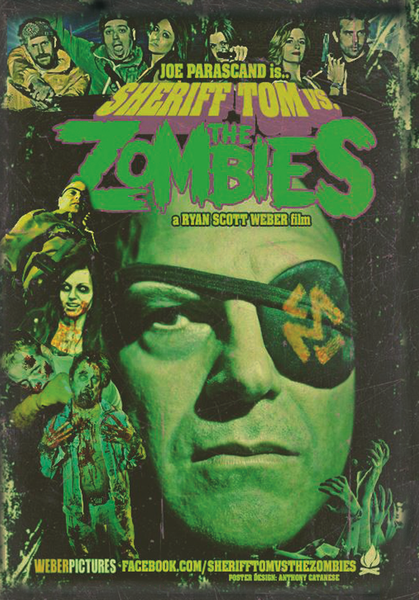 Image of Sheriff Tom Vs. The Zombies DVD (2013)
