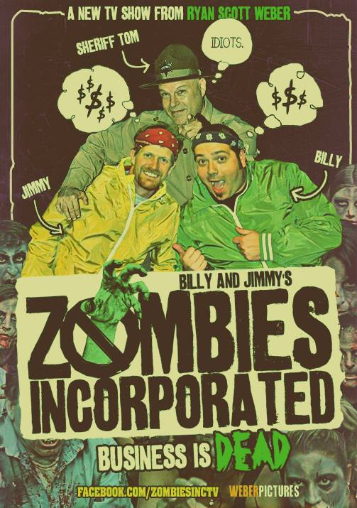 Image of Zombies Incorporated Season One DVD (2014)