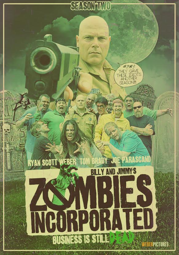 Image of Zombies Incorporated Season Two DVD (2015)