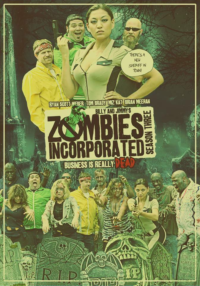 Image of Zombies Incorporated Season Three DVD (2016)