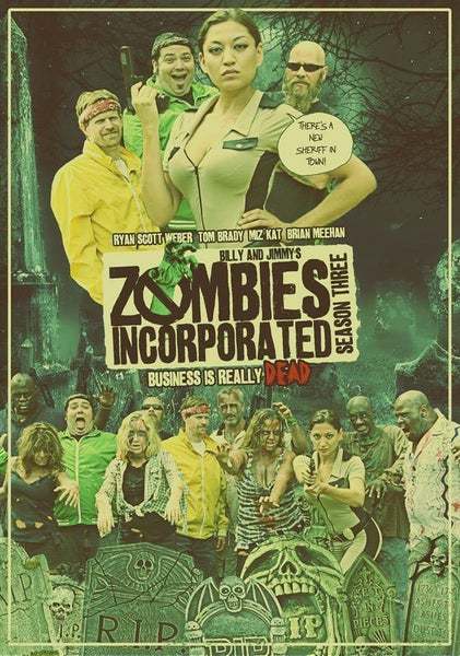 Image of Zombies Incorporated Season Three DVD (2016)