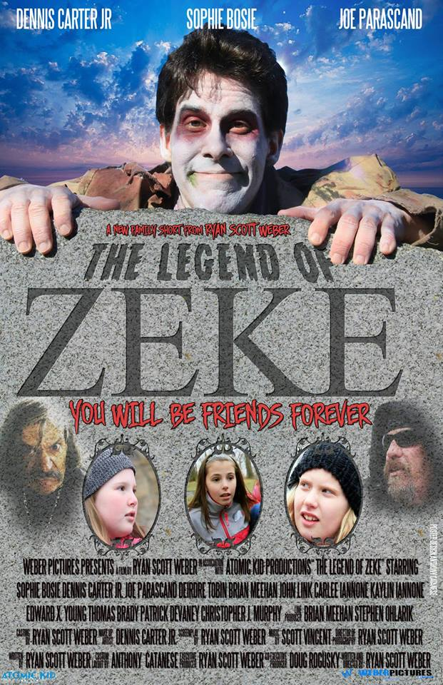 Image of The Legend of Zeke DVD (Short film 2014)