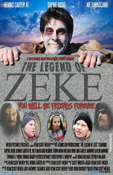 Image of The Legend of Zeke DVD (Short film 2014)