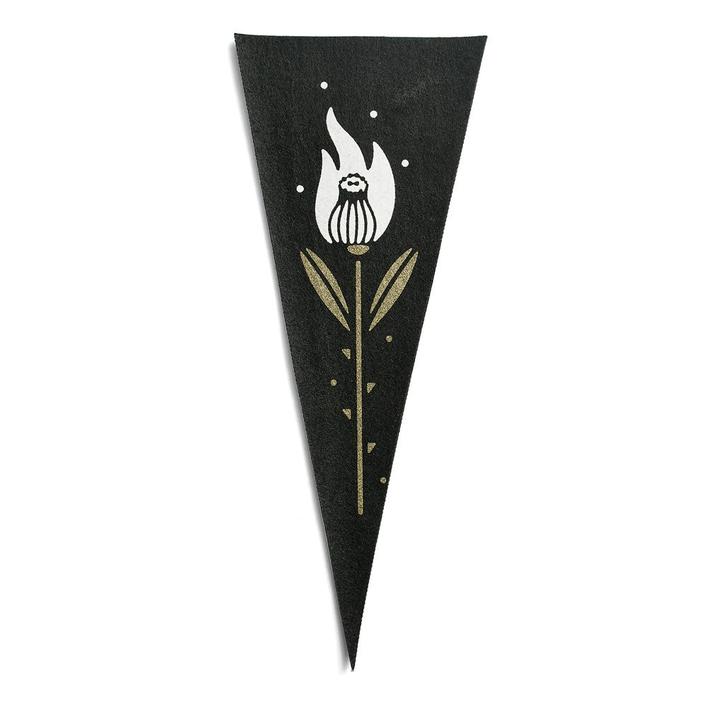 Image of Burning Thistle Mini Pennant