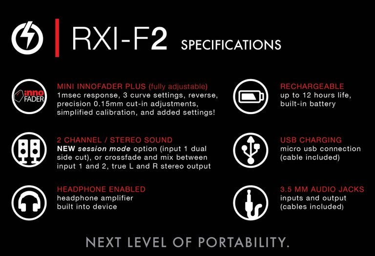 Image of RXI-F2 - Portable Fader (LIMITED SILVER)