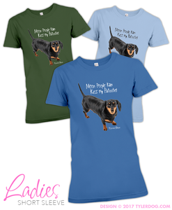 Image of Meen Peeple Ladies T-shirt