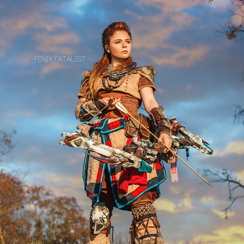 Image of Pre Order - Horizon Zero Dawn Aloy Cosplay Print