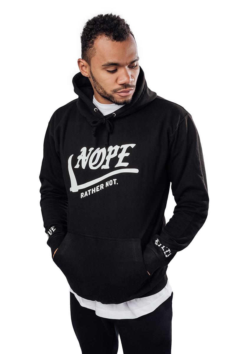 Image of Nope Hoodie |  Black