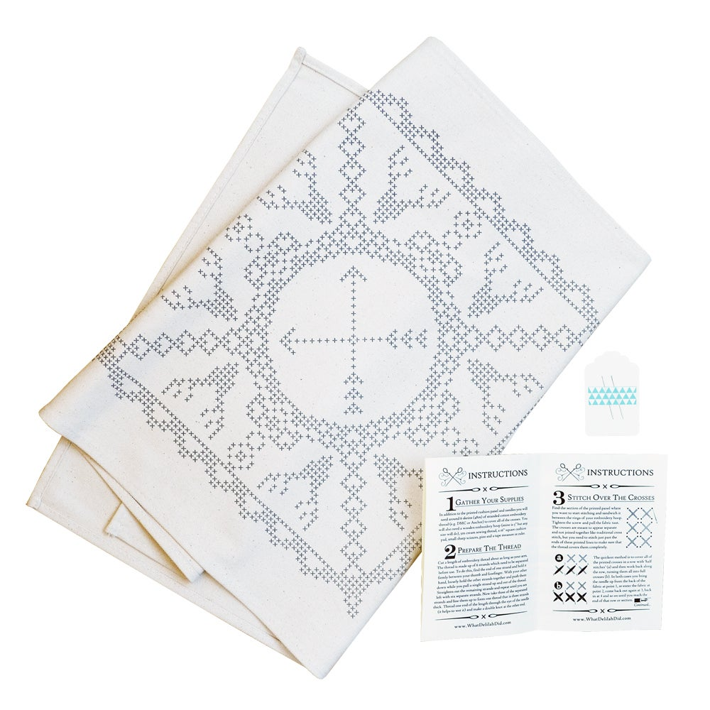 Image of Basic Printed Cushion Kit - Spetacular Stags