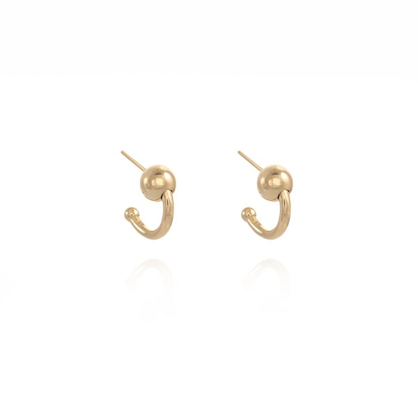 Image of Gold Swing Earrings