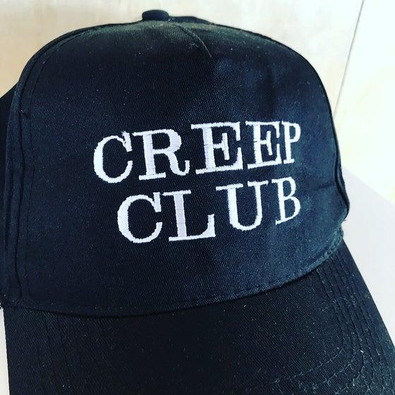 Image of CREEP CLUB EMBROIDERED BASEBALL CAP