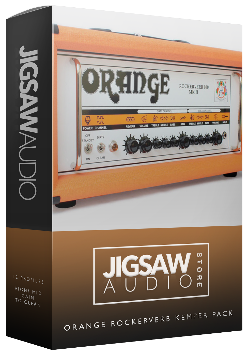 Image of Orange Rockerverb Kemper Pack
