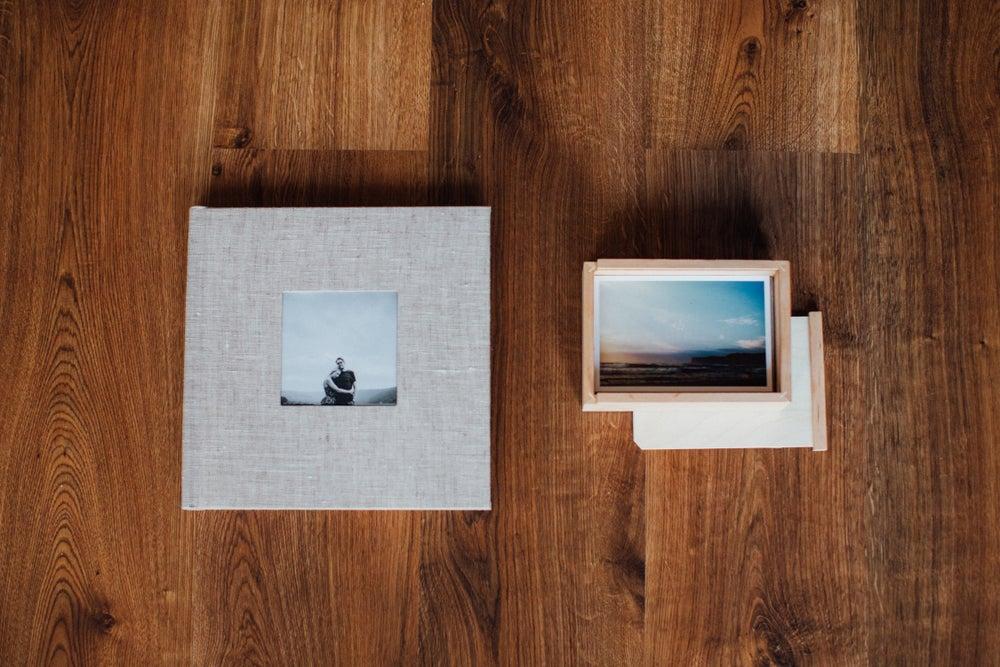 "Image of (-30%) 10x10"" Photo Album & Print Box (design included)"