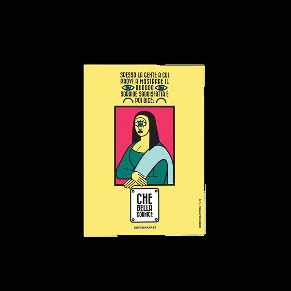 Image of Dutch Nazari | Stampa Limited 50 Esemplari | Falling Crumbs