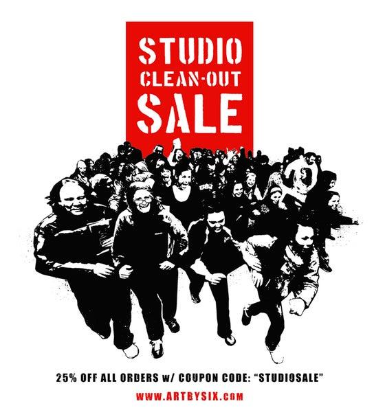 Image of STUDIO SALE