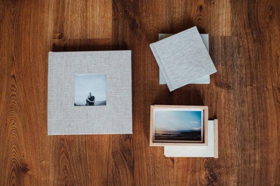 "Image of (-50%) 10x10"" Photo Album + DuoBooks & Print Box (Design Included)"