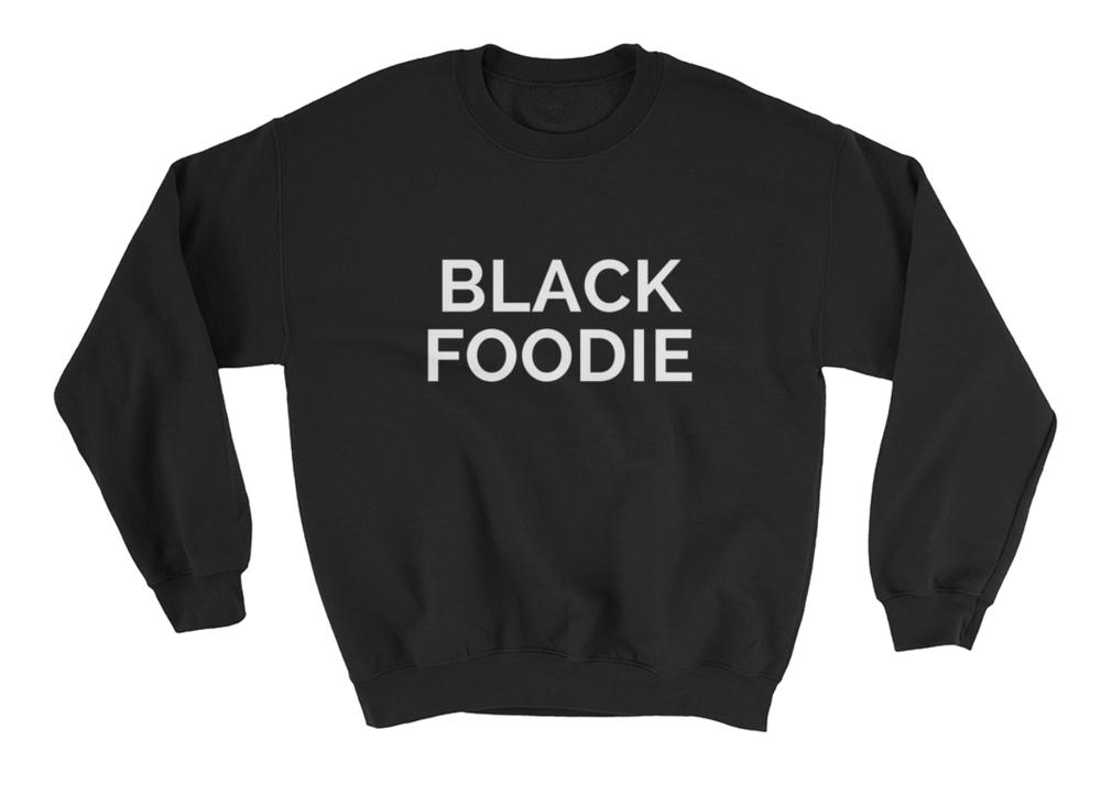 Image of BLACK FOODIE Crewneck Sweater