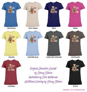 Image of Destiny the Superhero Ladies T-shirt