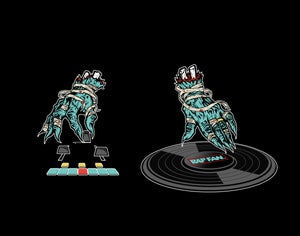Image of RAPFANxRTJDJ T-shirt w/ free mixtape