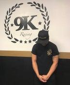 Image of 9K Racing Turbo Crewneck T-Shirt Black