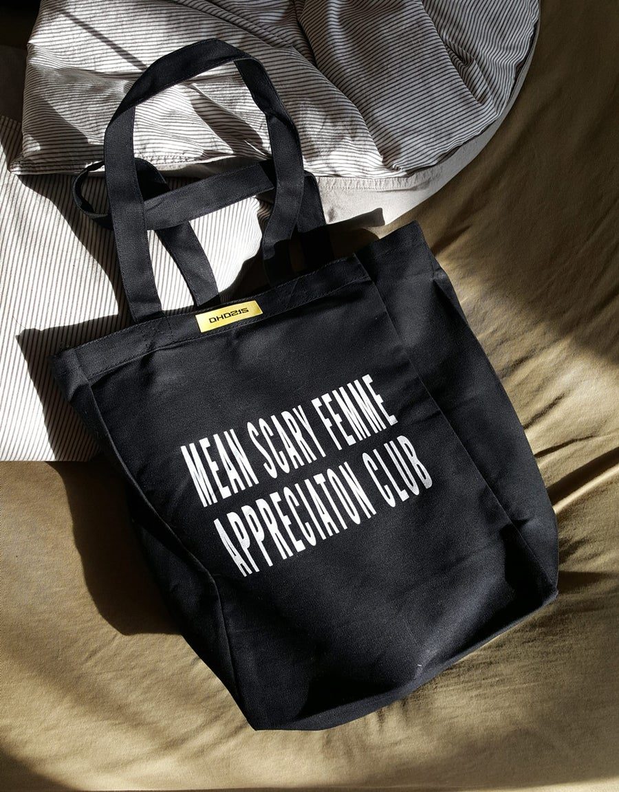 Image of APPRECIATION CLUB TOTE