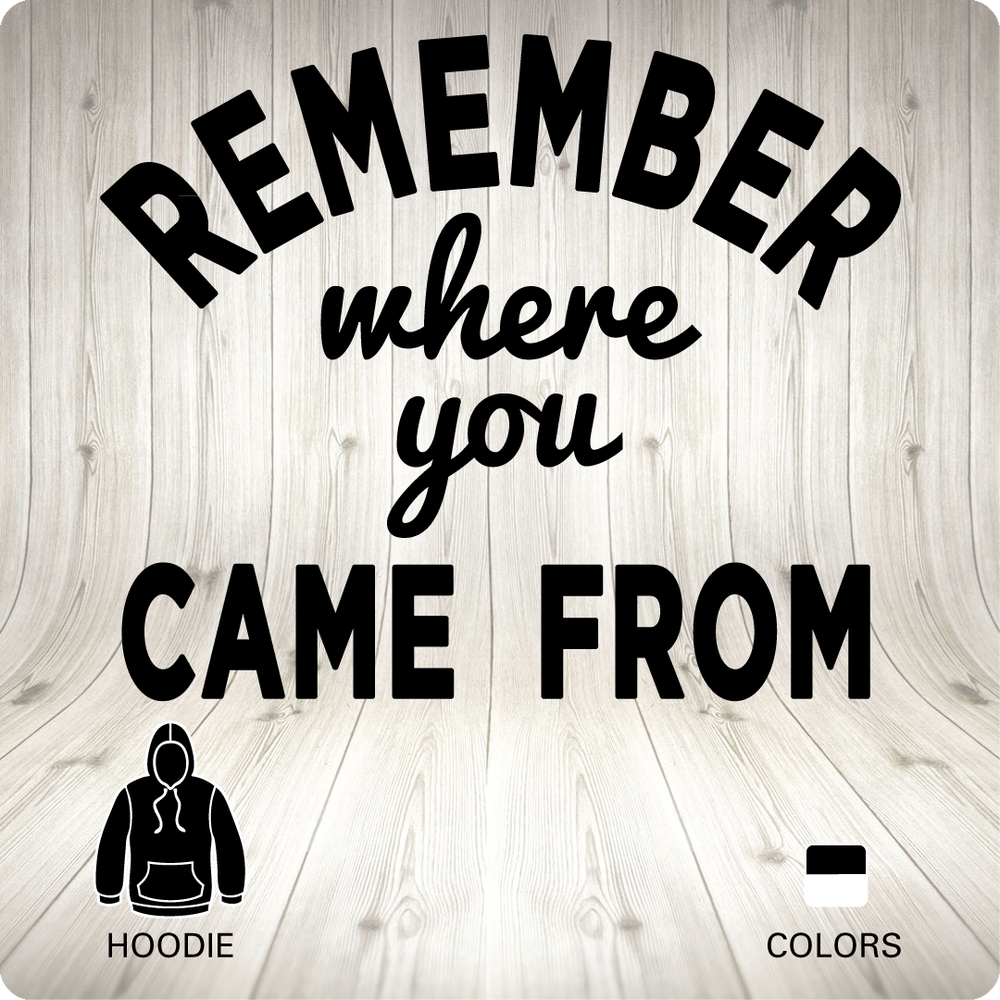 Image of REMEMBER - Hoodie