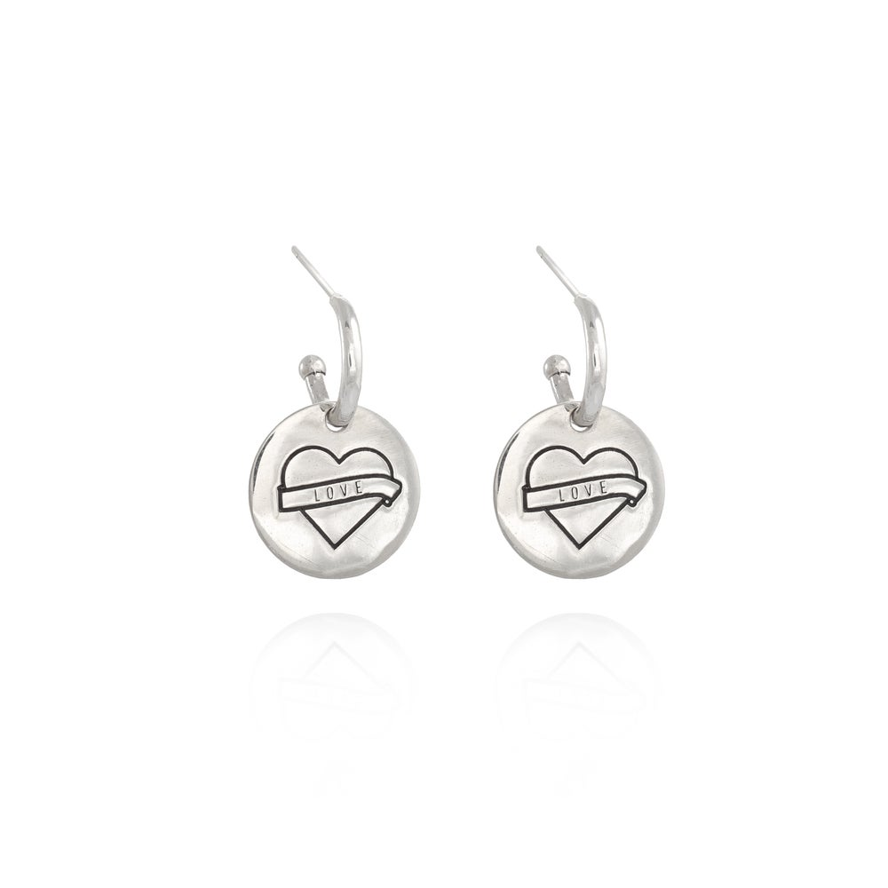 Image of Gipsy Icon Rebel silver Earring