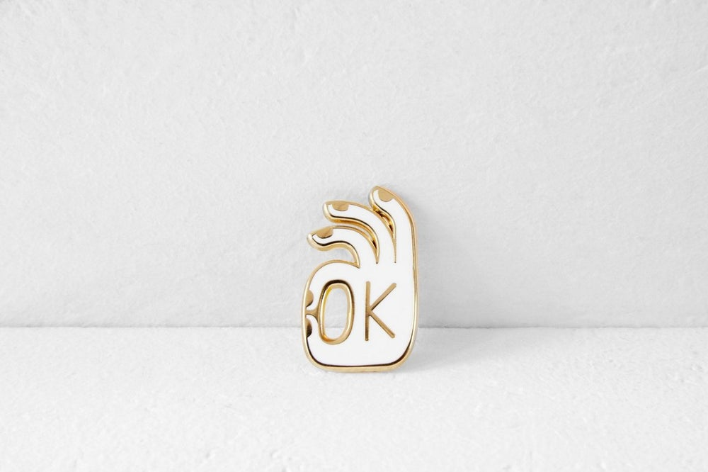 Image of OK PIN GOLD