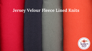 Image of Jersey Velour - Maple