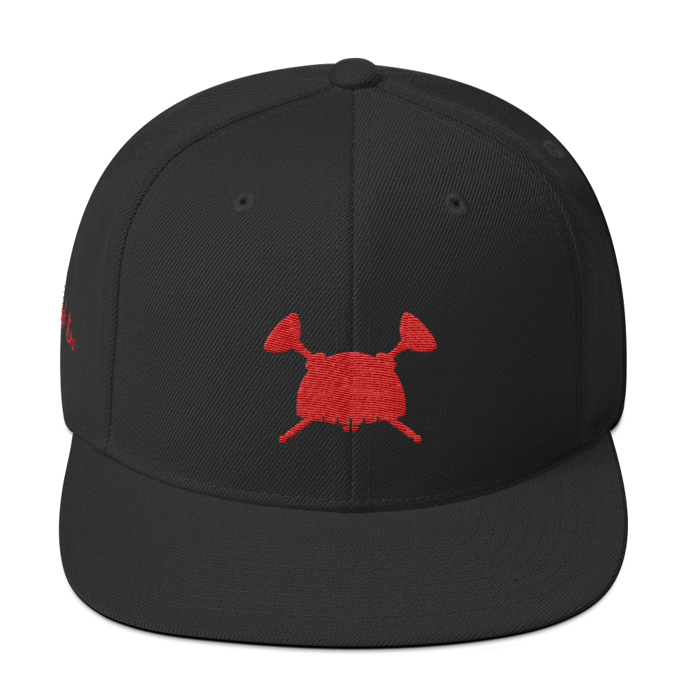Image of Dream Hero Snap Back Black Red