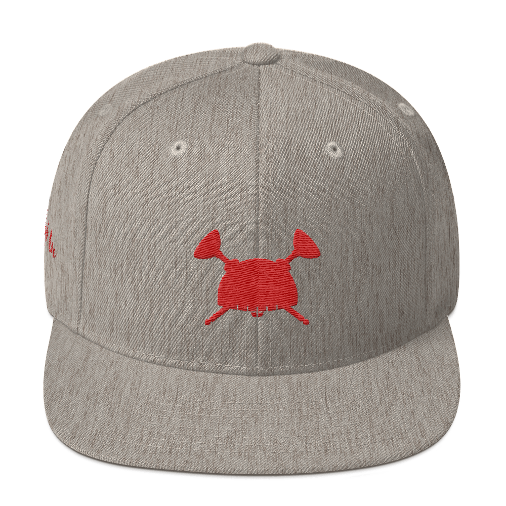 Image of Dream Hero Snap Back Heather Red
