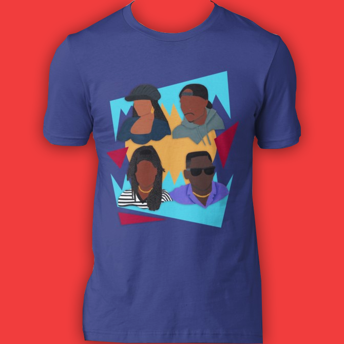 Image of Justice. (Tee)