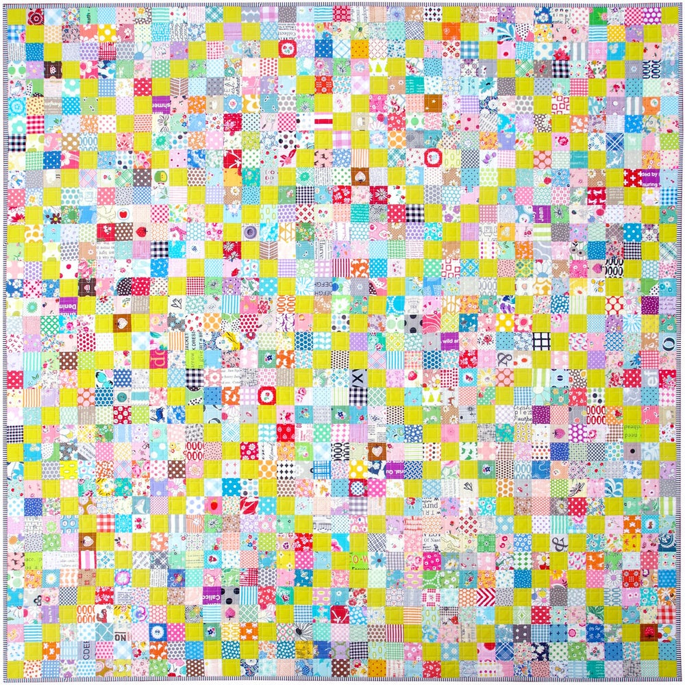 Image of Scrappy Irish Chain Quilt Pattern