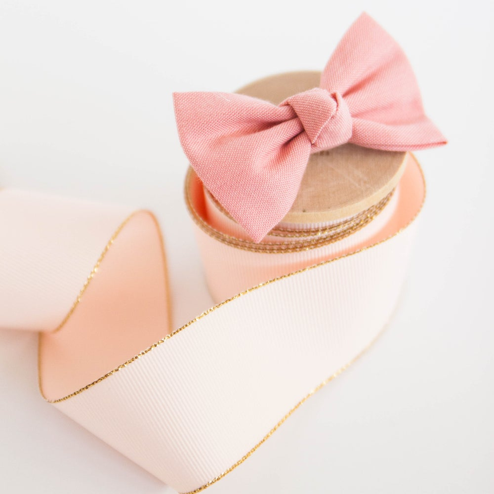 Image of Signature Knotted Blush Bow
