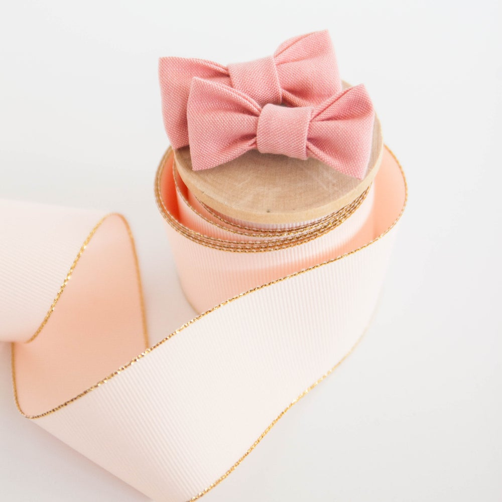 Image of Blush Pigtail Clips