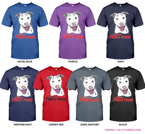 Image of Destiny's Pibble Posse T-shirt Unisex