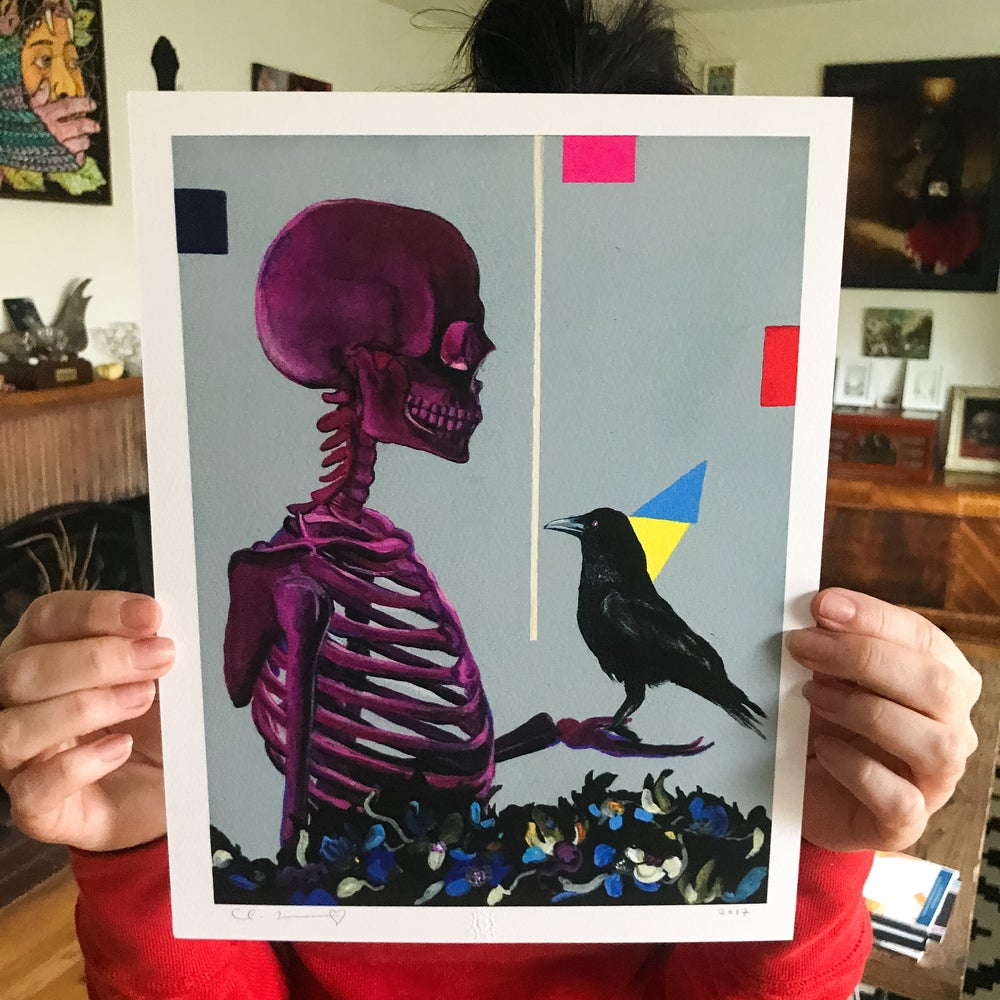 """Image of """"Amor Fati"""" Two 8.5""""x11"""" Giclee Print Set Open Edition"""