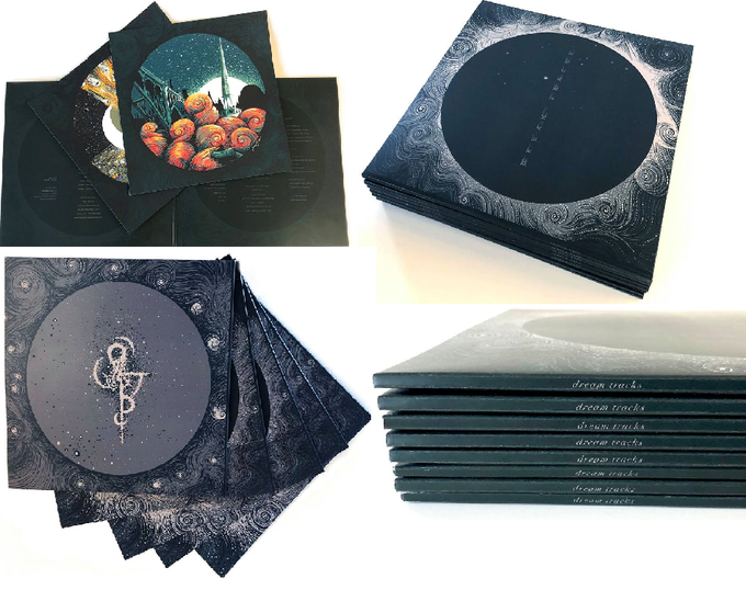 Image of James R Eads EP Song Series Full Set - CIRCULAR FOIL  Edition