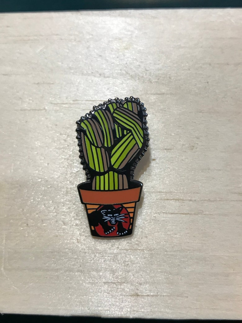 Image of Power to the people cactus hand