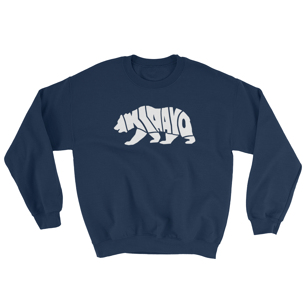 Image of KIAAYO MEANS BEAR (NAVY & RED)