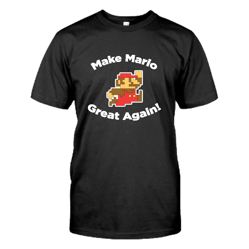 Image of Make Mario Great Again! T-Shirt