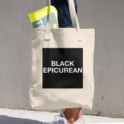 Image of Black Epicurean Tote Bag