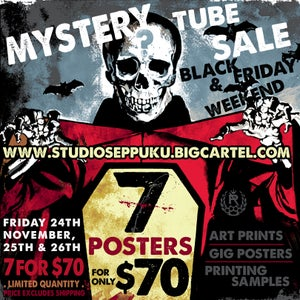 Image of MYSTERY TUBE SALE 2017 - 7 FOR $70