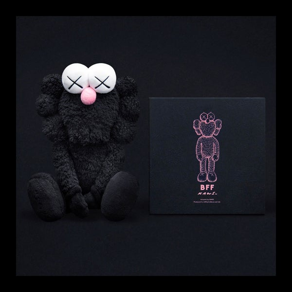 Image of KAWS - BFF PLUSH BLACK